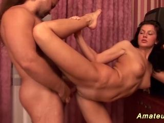 Amazing Russian Flexible Acrobatic Couple Fucking In Extreme Contortion Positions