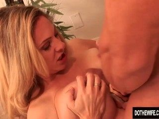 Blonde Housewife Takes It Anally From Porn Stud (4)