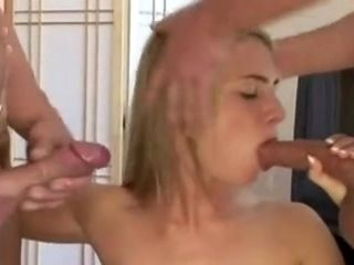 Wife Takes On 3 Cocks