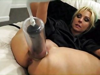 Mom Playing With Her Massive Dildo 6