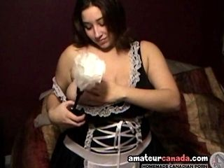 Tracy Huge Boob Babe As A Maid Oiling Big Naturals