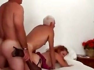 Bisex Mature Couple and Friend (2)