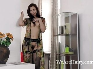 Adele Siemens gets sexy while stripping naked (2)