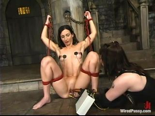 Bad girl Wenona gets her pussy tortured and shocked