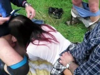 Dogging Wife Fucked In Park