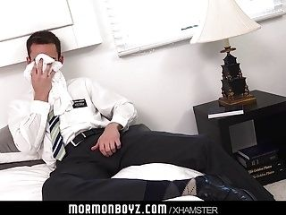 Mormonboyz - Secret missionary solo with ass play