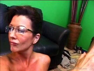 Elegant Cougar With Big Tits Being Banged Doggystyle Before Getting Facial Cumshot (2)