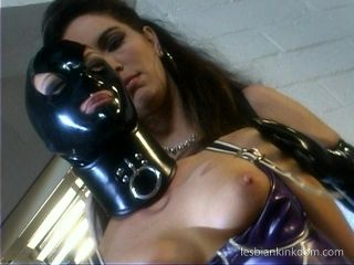 Latex Fetish Girls Enjoy An Evening Of Lesbian Kink (2)