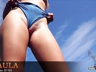 Hot Teen Playing With Her Sexy Shorts