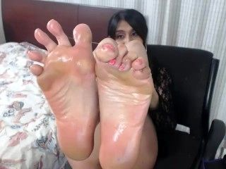 Sexy Oiled Soles