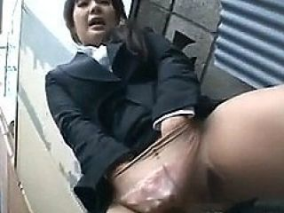 Frustrated Japanese Doll Masturbates 2 By Publicjapan