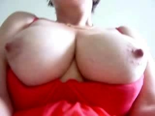 Lewd Older Plays With Her Marital-Device Close-Up (2)