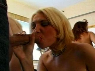 Kinky Group Sex With Two Shameless Amateur Bitches (2)