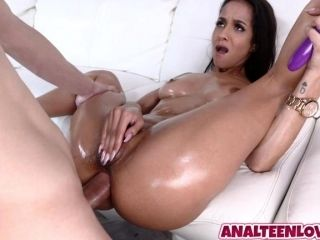 Hot babe Abby Lee Brazil gets an awesome anal fuck