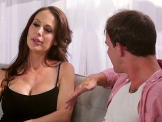 Horny MILF called McKenzie Lee still successfully rides the dong