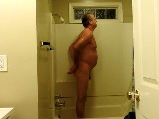Naked Mature Man (Myself) Showering And Talking Sex And Things.