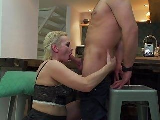 Desperate Hairy Mother Suck And Fuck Younger Son