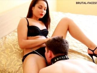 Big femdom adventure of sexy Kristall and her miserable boyfriend