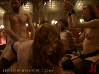 Horny Babes Crave Over A Hard Cock In BDSM Film