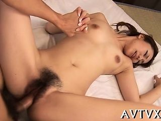 Japanese Chick's Twat Is Awfully Juicy From Stud's Toying