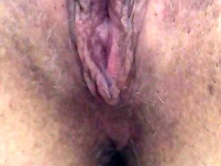 Squirting Juicy Dripping Pussy With Wand Amateur Close Up