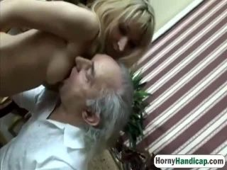 hornyhandicap 15 5 217 old fart takes care of younger elegant filth hi 2