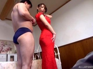 Shinoda Ayumi is a hot chick in sexy lingerie ready for a cock
