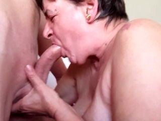 Granny Pissing And Creampied (3)