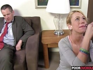 A BBC For HotWife Kaylee Hilton While Cuckold Watching (2)