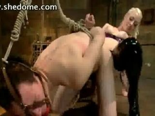 Beautiful Women Dominate Submissive Men Movie