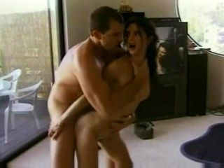 Classic Porn: Athletic Fitness Chick Rebecca Lord Intense Hot Fucking