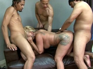 Mature Blonde Weathers A Thorough Fucking By Numerous Fucking Rods (2)