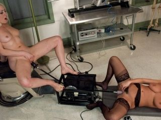 Incredible squirting, fetish xxx scene with horny pornstars Charley Chase, Lorelei Lee and Cherry Torn from Fuckingmachines