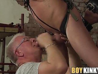 Old And Young Fuck Buddies Decide To Spice Up Their Sex Life (3)