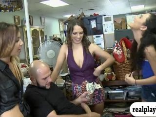 Beautiful Girls Group Sex For Some Money (2)