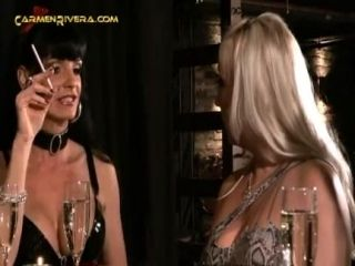 German Femdom fuck guy with Huge Strapons