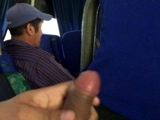 Jerking Off While Going Home