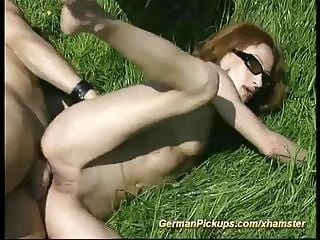 Skinny Muscle German Anal In Nature