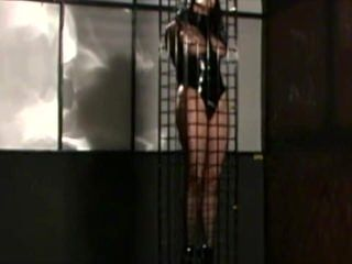 BNDCF: Storage solution for a latex slave girl.