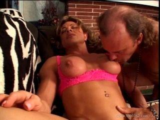 Striking Mature Cowgirl Giving Huge Dick Blowjob Then Getting Banged Doggystyle (2)