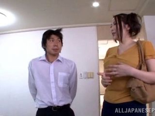 Mature Asian woman with a hot ass enjoying a hardcore cowgirl style fuck (2)