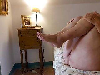 My 77 Years Old Granny : Missionary Fuck & Cum