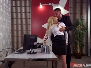 Sexy Secretary Face Fucked Roughly In The Office Shoot