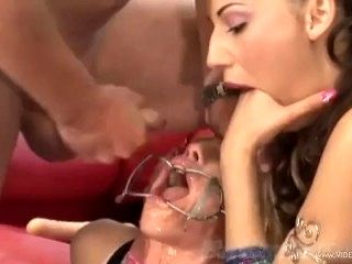 Legends of HardCore Layla invites Patience over for cheerleader tryouts