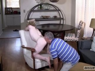 Cock Hungry Teen Can't Get Enough Bareback Daddy Dick (2)