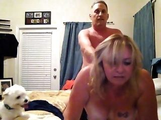 Hot Homemade Couple In Bed