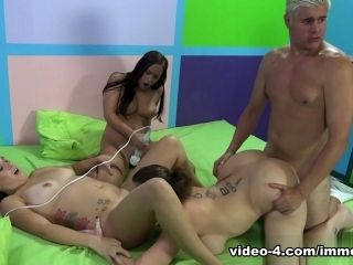 Exotic pornstars Onyx Muse, Sara Jay in Fabulous Big Ass, Group sex adult movie