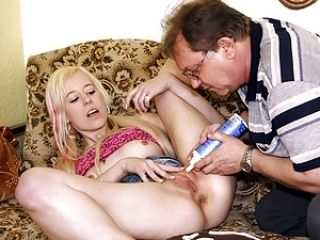 Old Dementing Fart Fucked By Very Hot Babe