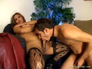 Ass Licking Shemale Getting Nailed