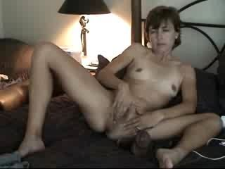 Mature Playing With Her Holes
